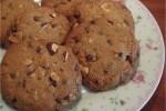 Glutenfrie cookies med chokolade og nødder