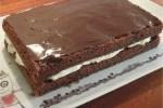 Chokoladekage med smørcreme