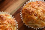 Grove muffins med skinke og ost