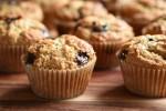 Peanutbutter muffins med chokolade