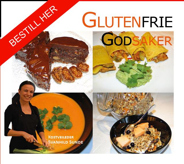 Link til bestilling av kokebok Glutenfrie Godsaker