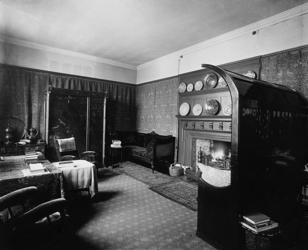 At Kelmscott House Spitalfields Life