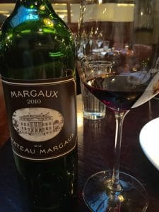 "Some estates, like the First Growth Chateau Margaux, even make a ""Third Wine"" which in exceptional vintages like 2010 can be outstanding values. I was very excited to see this wine on the list of Goodman's Steakhouse in London."