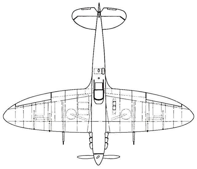 Concise Guide To Spitfire Wing Types — Variants