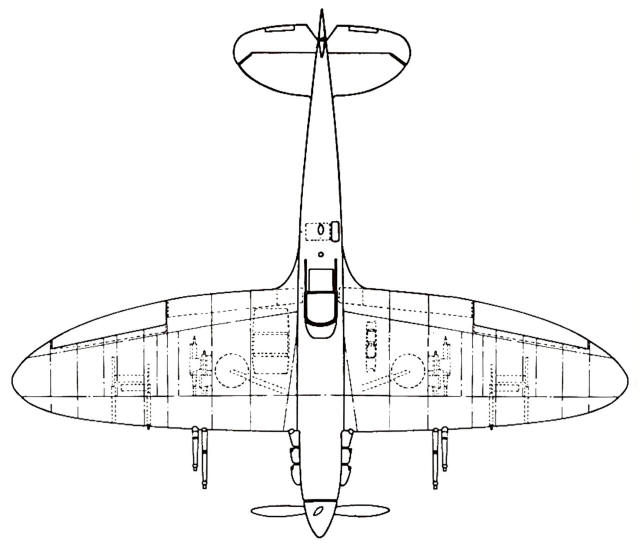Spitfire DP845, Fowler flaps, 6 cannon wing, Any details