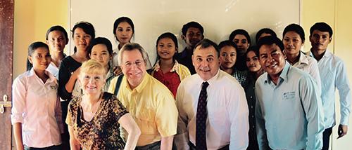 Ambassadar William Heidt visits Spitler School