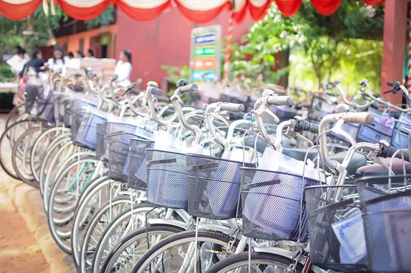 Graduation bikes
