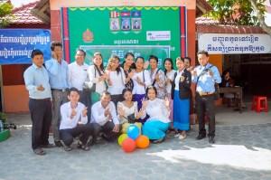 Teachers and staff from Spitler School