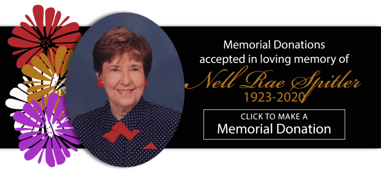 Nell Rae Spitler Memorial Donation