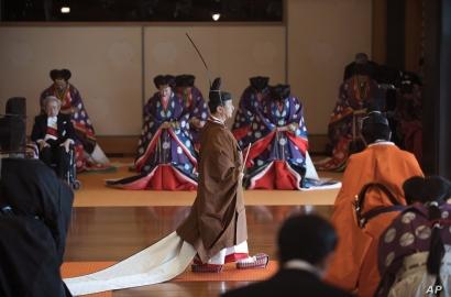 Japan's Emperor Naruhito, enthronement ceremony