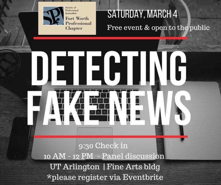 Detecting Fake News–What it is–Who Posts it! | Fort Worth SPJ
