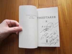 Thieftaker by D. B. Jackson