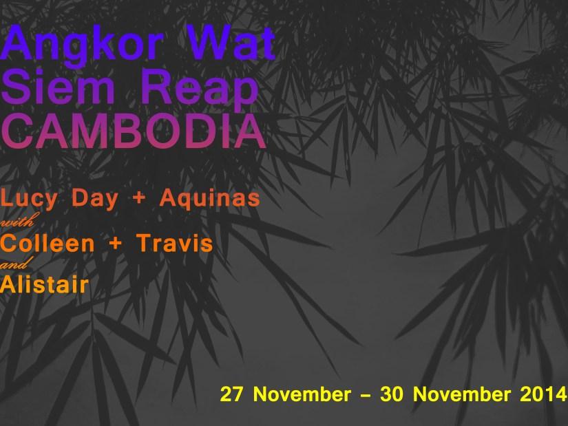 Siem Reap, Cambodia (November 2014)