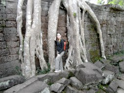 This temple is just as cool as Ta Prom (the Tomb Raider temple) but way less crowded.