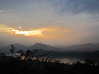 Mountains at sunset!