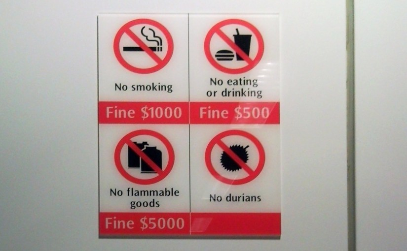 Absolutely. No. Durians.