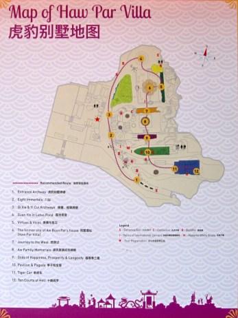 Park map.
