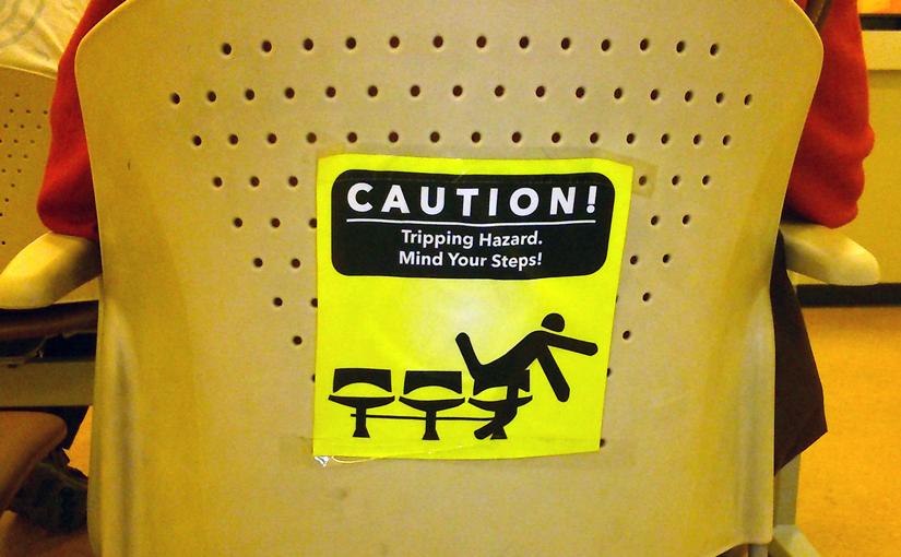 Mind your steps!