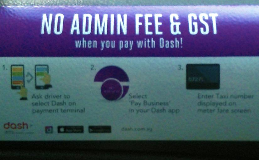 No Admin Fee and GST