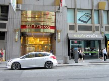 555 Fifth Avenue and a sandwich shop with a clever name.
