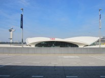 Historic TWA terminal at JFK.