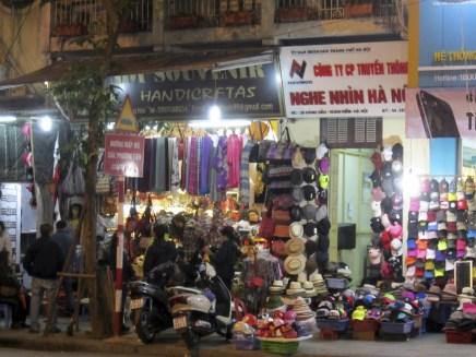 """Hanoi souvenir shop selling """"HANDICRFTAS"""""""