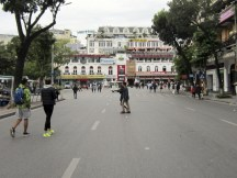 giant weekend pedestrian zone