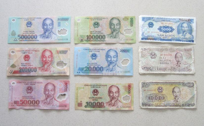 Vietnamese banknotes