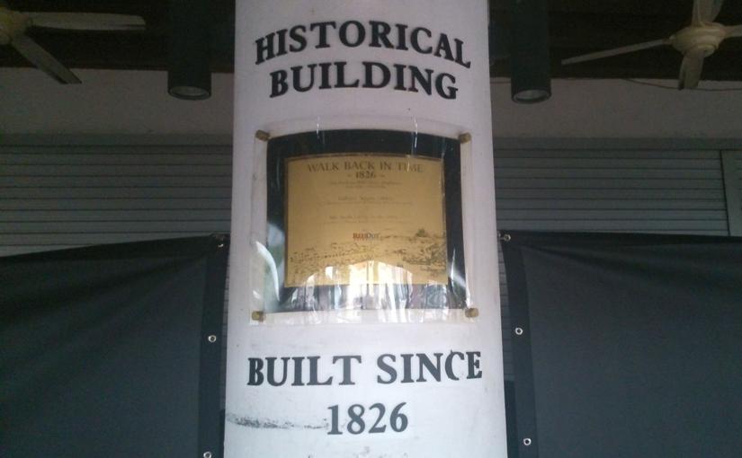 Historical Building: Built Since 1826