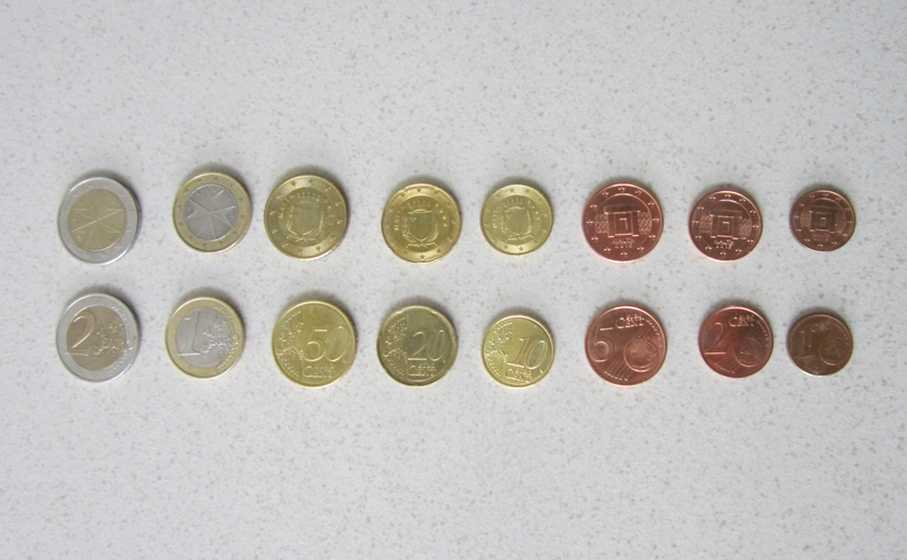 Euros from Malta