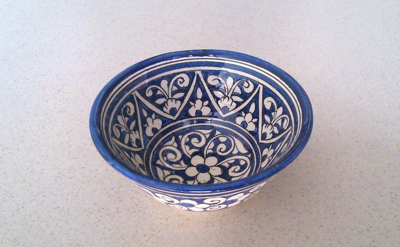 Small little bowl from Uzbekistan