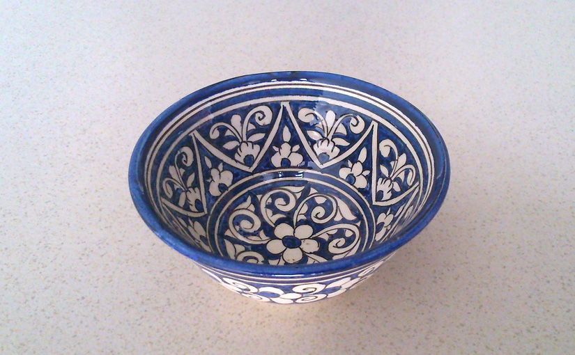 Small little bowl from Uzbekistan