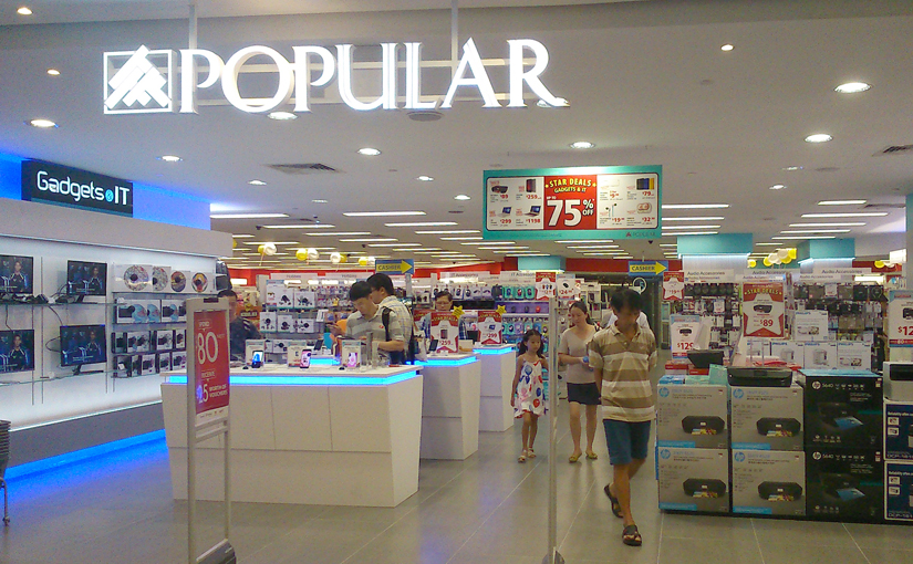 Popular at Clementi is no longer a bookstore