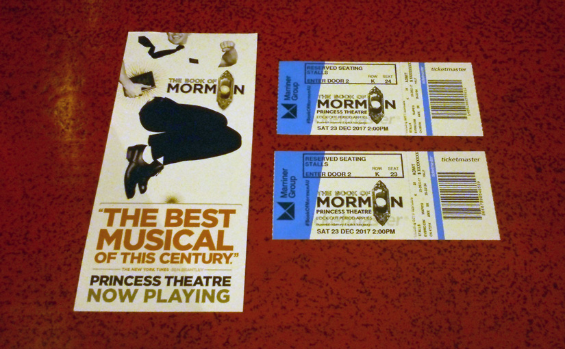 The Book of Mormon (2017 musical in Melbourne)