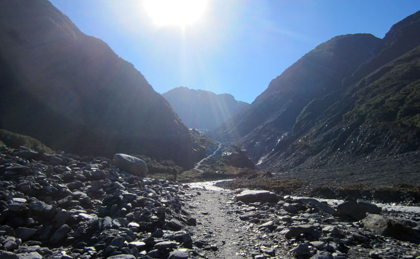 The drive to Fox Glacier and Fox Glacier