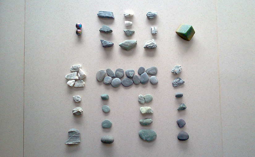 Rocks from New Zealand