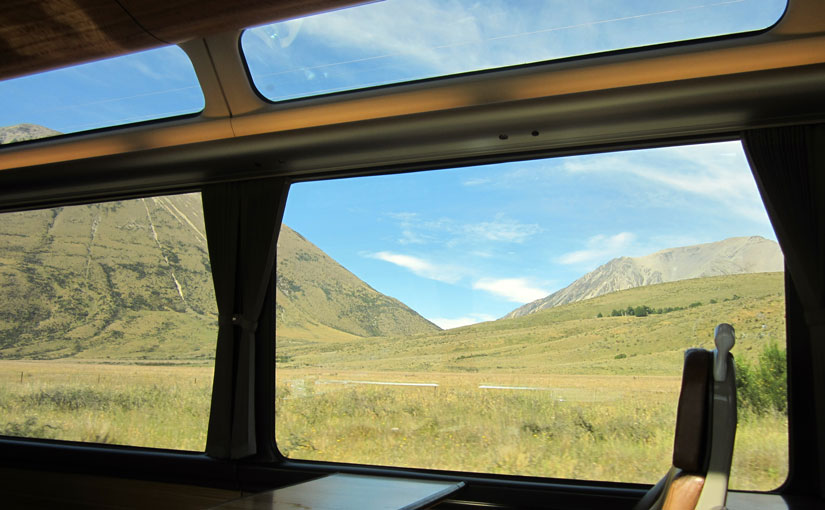The Tranzalpine Train trip