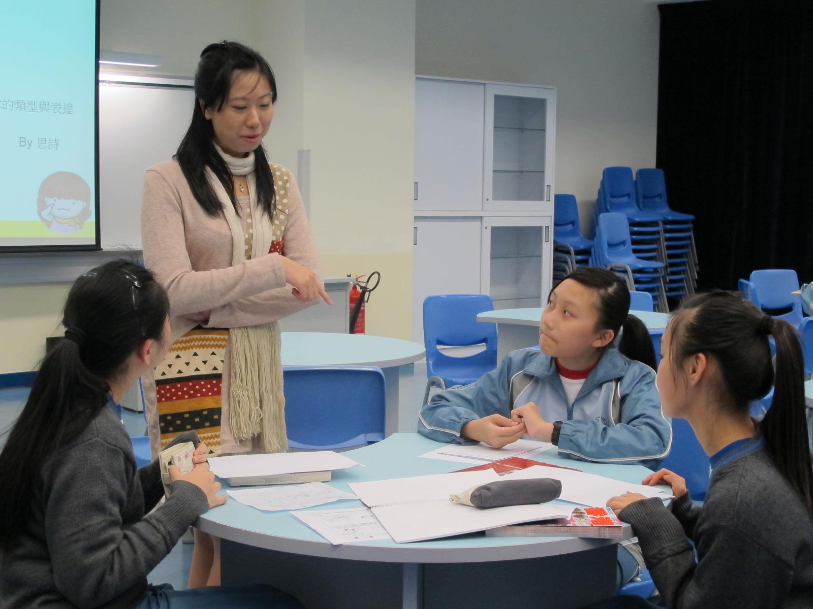 20121212 創意繪本構思創作班 3 – Stewards Pooi Kei College Library —– 香港神託會培基書院圖書館