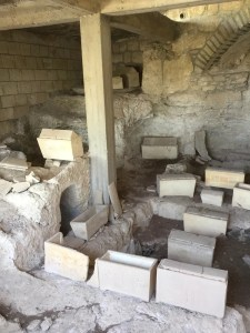 Necropolis of the I-IV centuries a.d. with Judaeo-Christian sepulture of the I-II centuries.