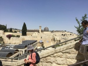 Another view of the Al-Aqsa mosque