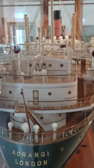 Námořní muzeum - poklady NZ námořnictví