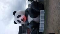Nemohla chybět tlustá mega panda
