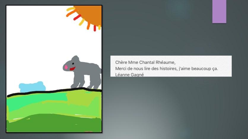 création D pour madame Chantal Rhéaume_