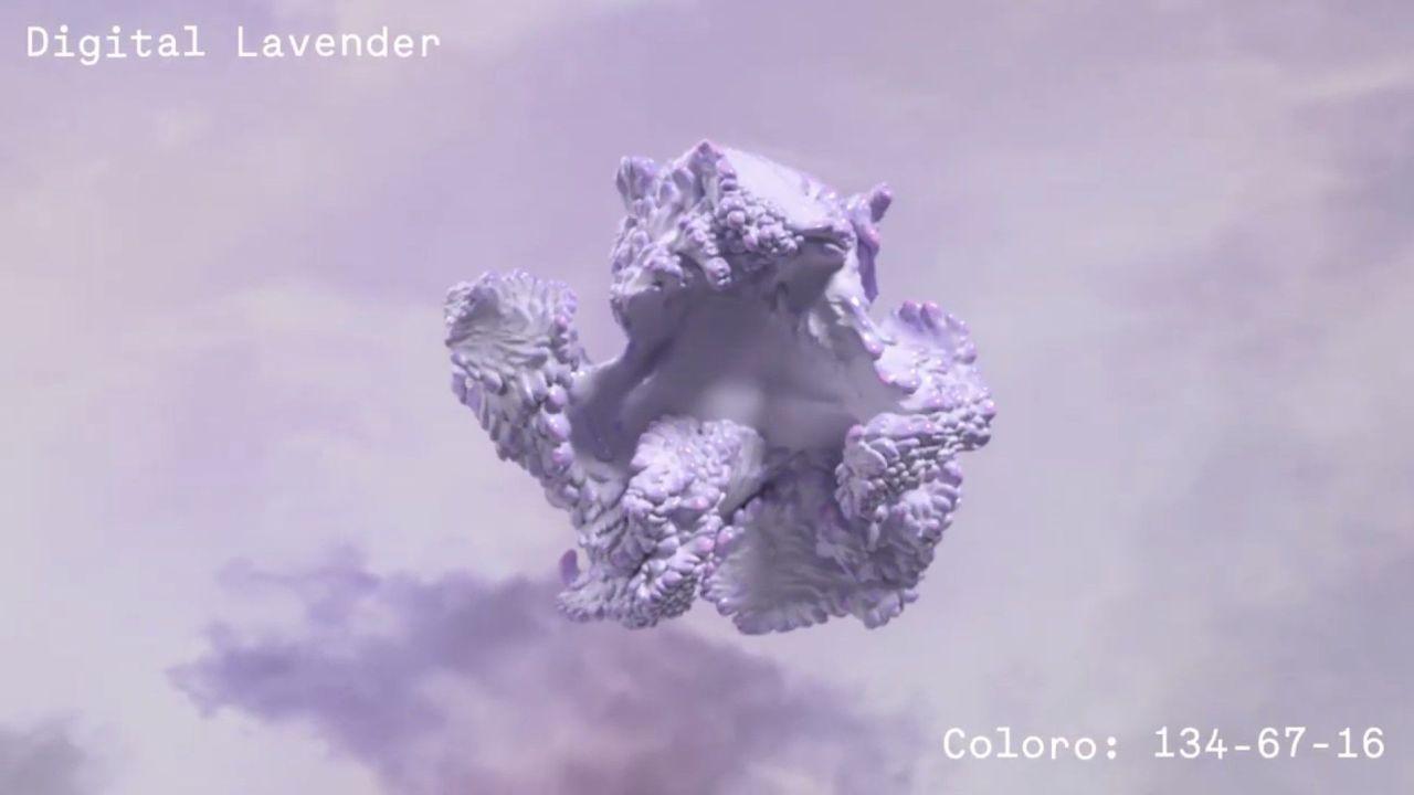 trendy colours ss23 lavender