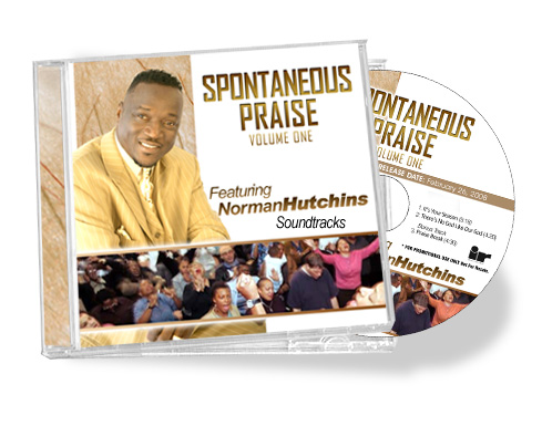 Norman Hutchins Spontaneous Praise CD