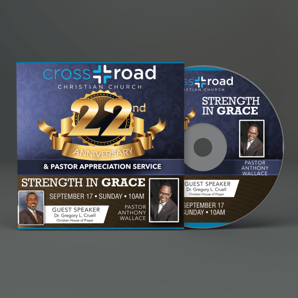 Crossroad Christian Church Dover Delaware CD Cover and Label