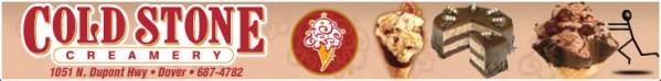 Coldstone Ice Cream Display Ad
