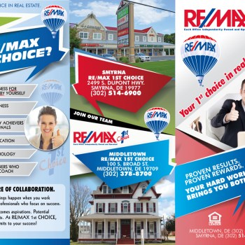 Remax 1st Choice Trifold Brochures