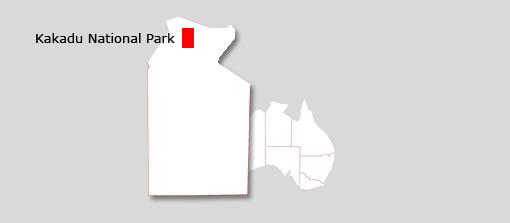 kakadu map
