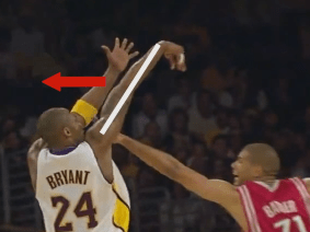 kobe shooting form follow through